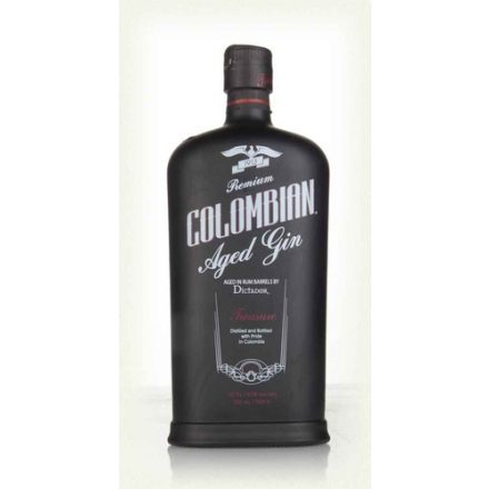 Colombian Aged Gin Black 43%  700 ml