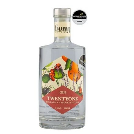 GONG 21 Dry Gin 41%
